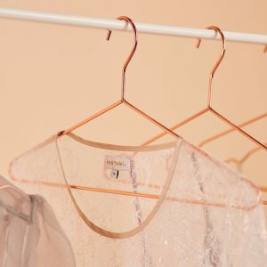 12 Pack Rose Gold Copper Clothes Hangers