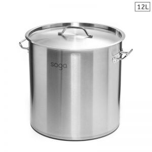 12L Stainless Steel Stockpot