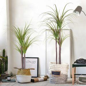 145cm Green Artificial Indoor Dragon Blood Tree Fake Plant Decorative