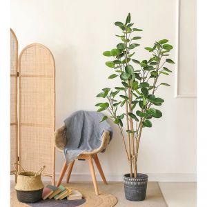 150cm Green Artificial Indoor Pocket Money Tree Fake Plant Simulation Decorative