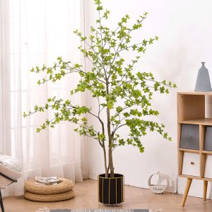 150cm Green Artificial Indoor Watercress Tree Fake Plant Simulation Decorative