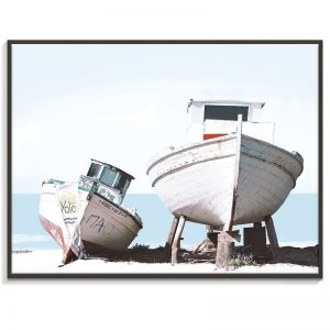 2 Boats | Canvas or Print by Artist Lane