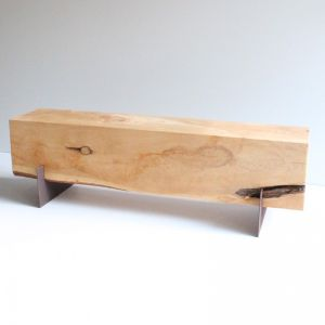 3 Seat Cypress Bench | Mild Steel Legs