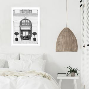 31 Rue Cambon B&W II Premium Art Print (Various Sizes)