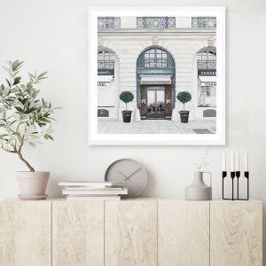 31 Rue Cambon Square Premium Art Print (Various Sizes)