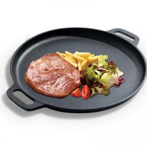 35cm Frying Pan Skillet | Cast Iron | Non-stick Coating