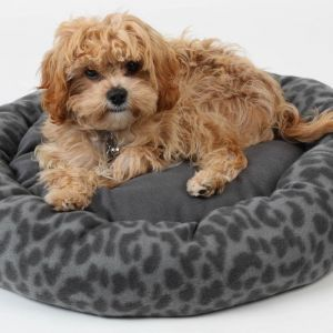 4 Paw Dia Round Pet Bed
