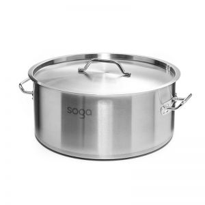 44L Stainless Steel Stockpot