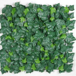 4x Ivy Leaf Screen Green Wall Panel UV Resistant | 50cm x 50cm