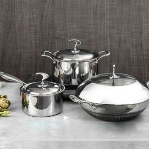 6 Piece Cookware Set | Stainless Steel