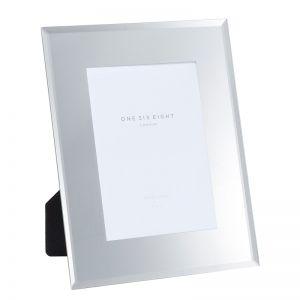 6 x 4 Glass Photo Frame | Mirror | One Six Eight London