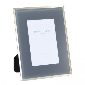 7 x 5 Glass Photo Frame | Grey | One Six Eight London