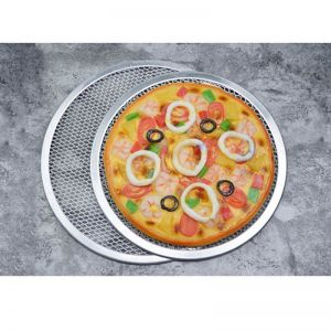 8-inch Round Aluminium Pizza Screen Baking Pan | Nonstick