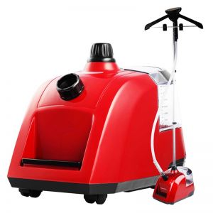 80min Professional Commercial Garment Steamer Portable Cleaner Steam Iron Red