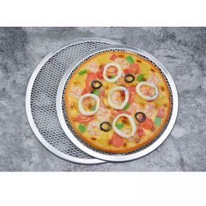 9-inch Round Aluminium Pizza Screen Baking Pan | Nonstick