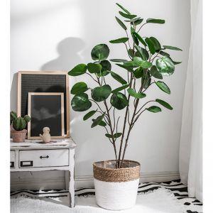 95cm Green Artificial Indoor Pocket Money Tree Fake Plant Simulation Decorative