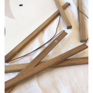 Timber Hangers for  Saarde Prints