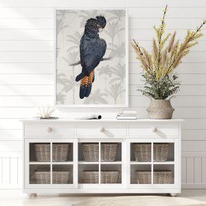 Tropical Cockatoo Poster