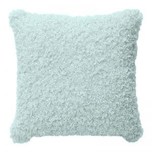 Lyla Faux Sheep Fur Cushion | 50x50cm | Mint