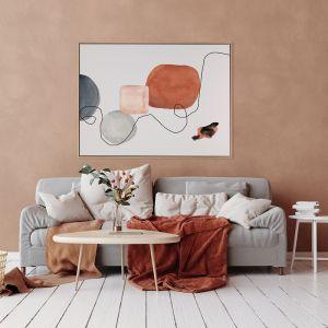 Down the Line I | Canvas Art Print