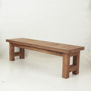Yashar Rustic Bench Seat Small l Pre Order