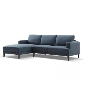 Netta 3 Seater Sofa With Left Chair | Blue