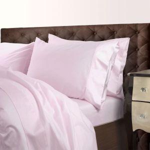 Royal Comfort 1000TC Cotton Blend Quilt Cover Sets   Blush   Various Sizes