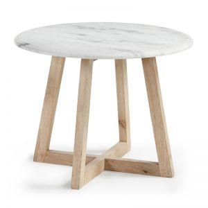 Hella Marble Side Table