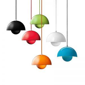 Verner Panton Flowerpot Pendant Light   Replica   Various Colours