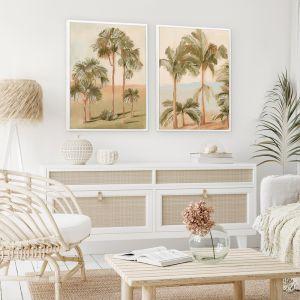 Tropical Sunset I | Canvas Print