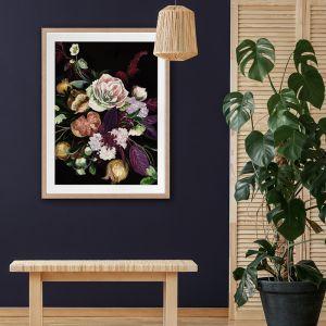 Fruit and Flowers | Framed Art Print