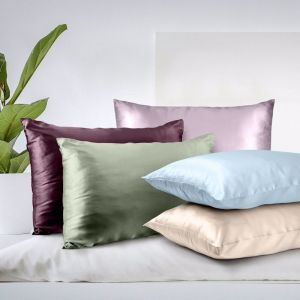 Royal Comfort Mulberry Silk Pillow Cases | Twin Pack | Multiple Colours