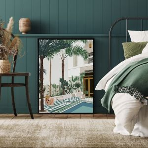 Vacationing Veronica | Canvas Print