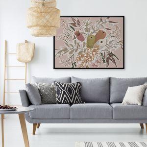 Bush Blooms   Canvas Print