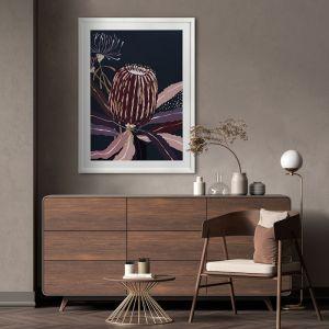 Blackberry Banksia | Framed Art Print