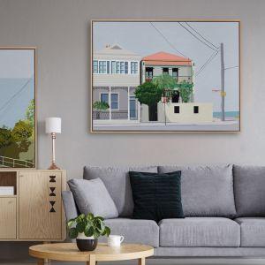 Parnell Place   Canvas Print