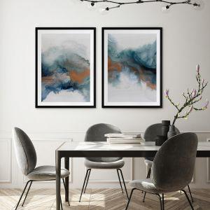 Dust and Sky II | Framed Art Print