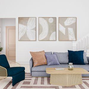Blanc Spaces I | Canvas Print