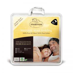 Moemoe 100% NZ Wool Combo Duvet Inner, 300gsm + 200gsm