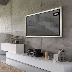 TV Mirror | Framed Mirror TV 43 Inch With Frame Options