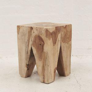 Rafi Peg Stool l Side Table