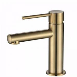 Accent Bath | Basin Mixer | PVD Brushed Bronze
