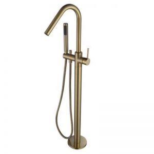Accent Bath | Freestanding Bath Mixer | PVD Brushed Bronze