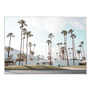 Palm Springs Getaway | Caramel Box Frame | Front View