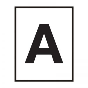 A | Framed Print | Artefocus