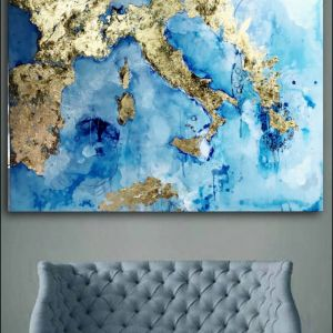 A piece of Europe | Original Artwork by Melissa La Bozzetta.  SOLD please enquire about Commission.