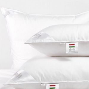 Abode Standard Size Pillow | Hungarian 20 | Hotel Quality | Firm