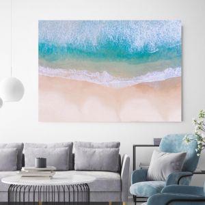 Above Bondi Beach | Canvas Wall Art by Hoxton Art House