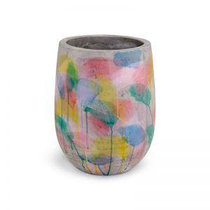 Abstract Concrete Planters | Pear | Small by Fox & Ramona