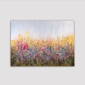 Abstract Field   Canvas Print